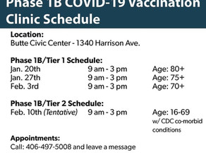 COVID Vaccinations at the Civic Center
