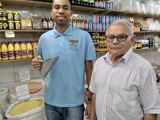 '#TôNaFeira': farinha que passa de pai para filho