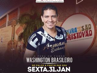 WASHINGTON BRASILEIRO está de volta ao RJ e na Feira de São Cristóvão!