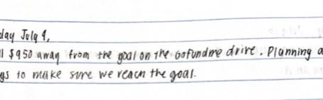 Must Reach Goal