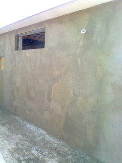 Rendered walls