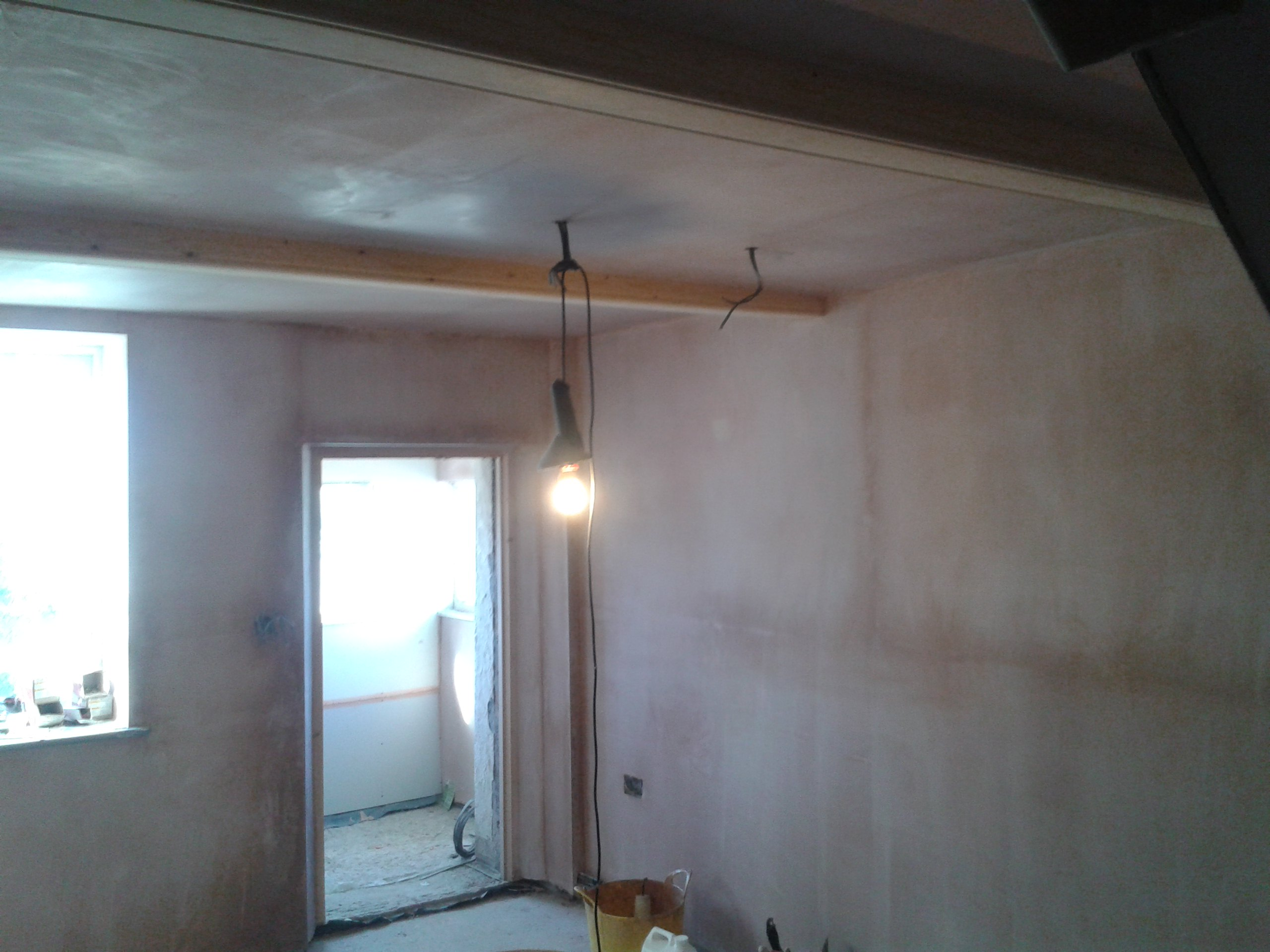 Living Room skimmed in Stockport