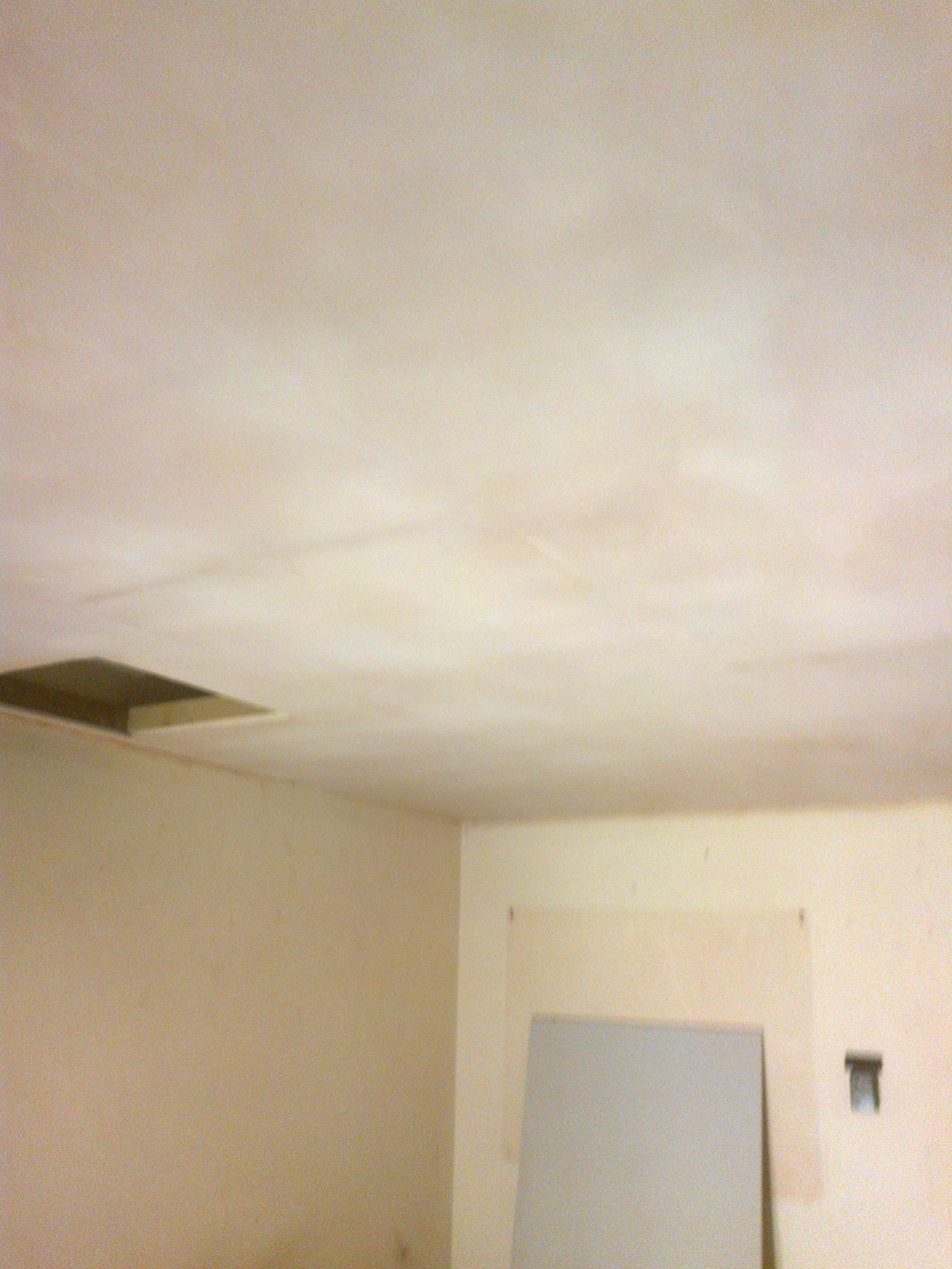 Ceiling skimmed in offices