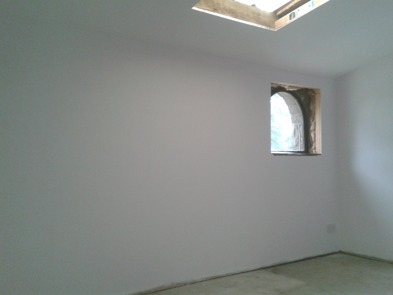 Flat plastererd in High Peak