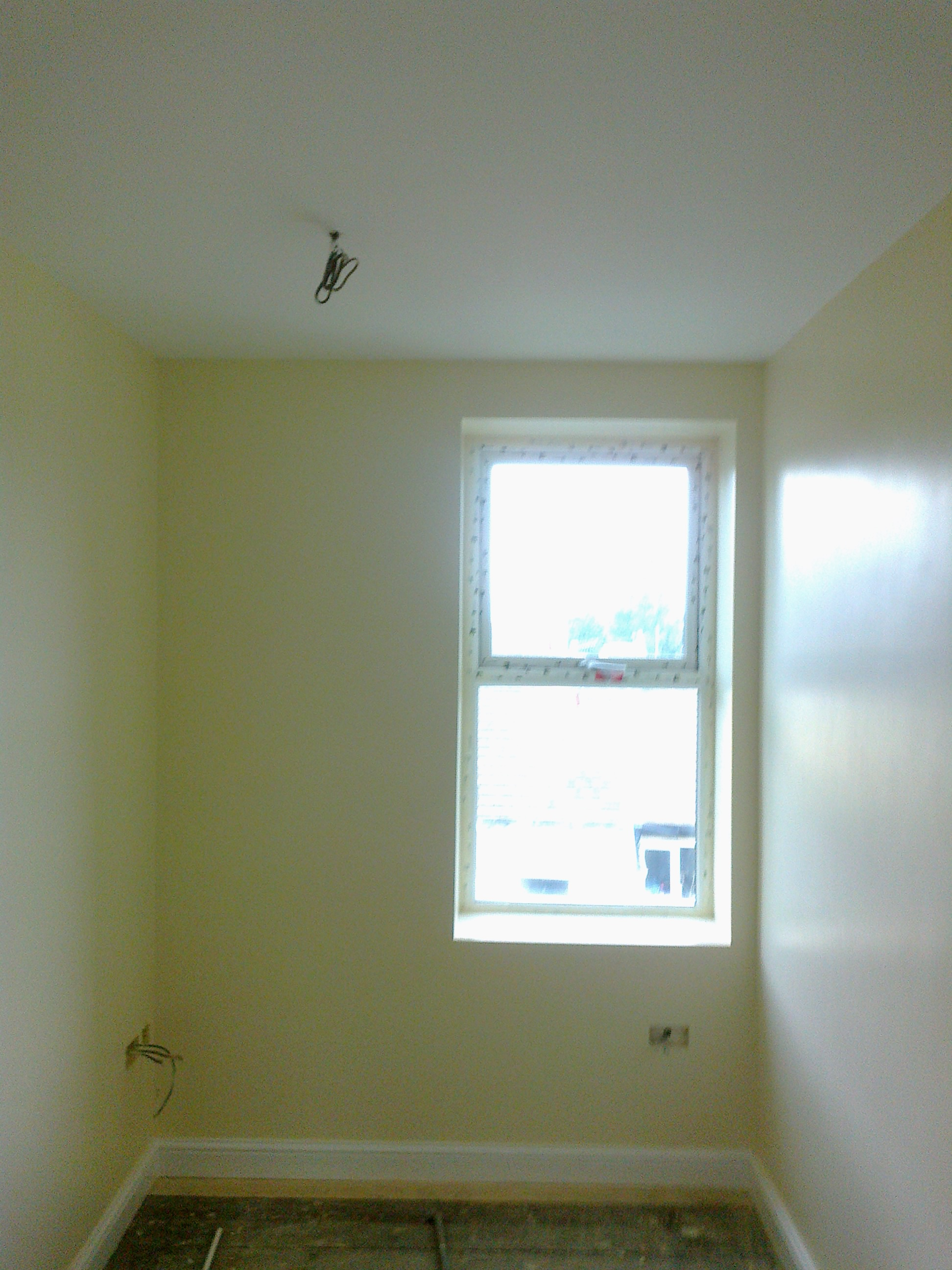 Room plastered Tameside