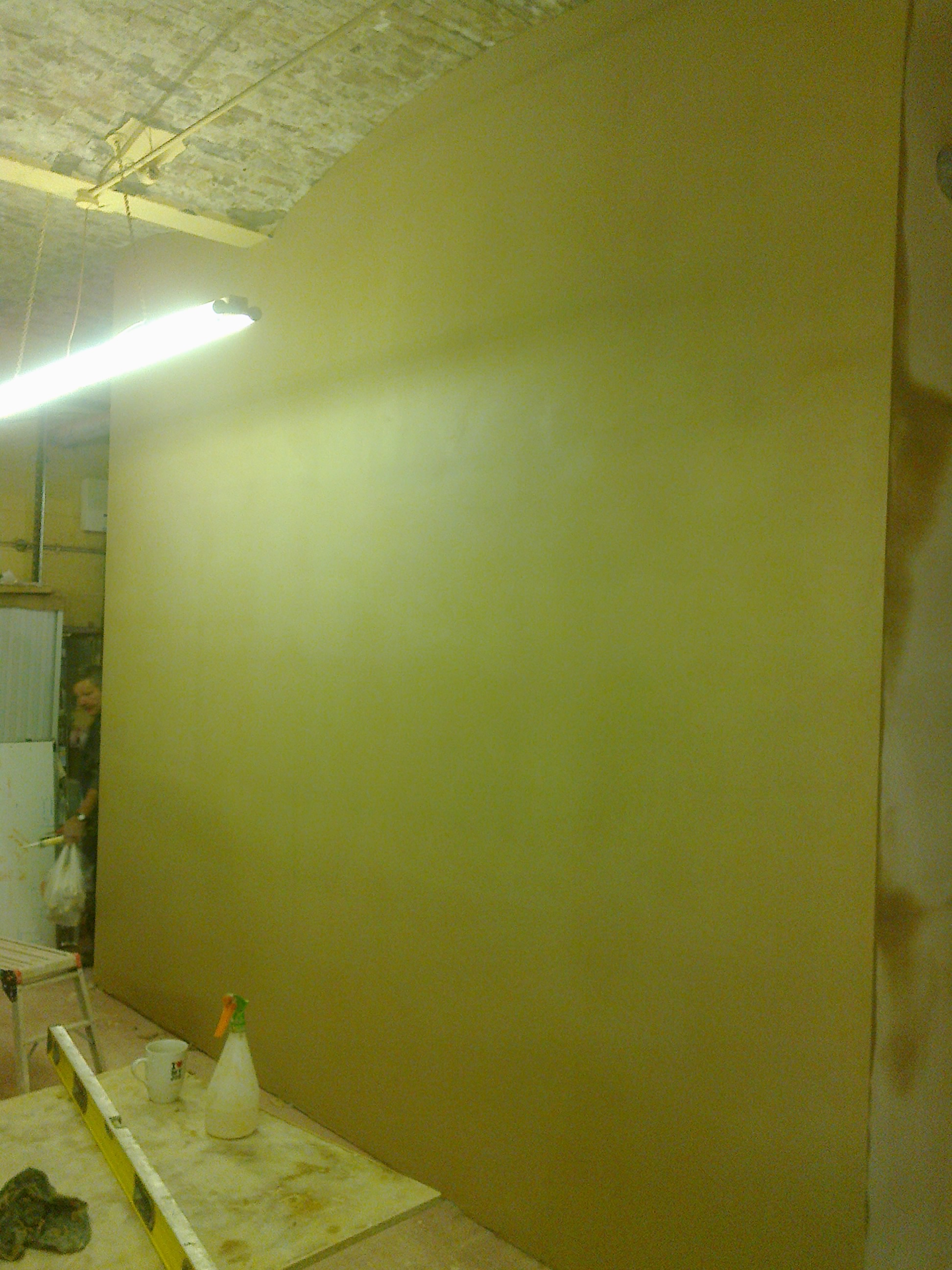 Commercial partitions / skimmed