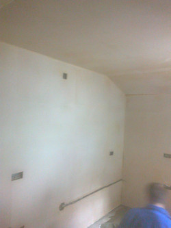 Kitchen plastered Manchester