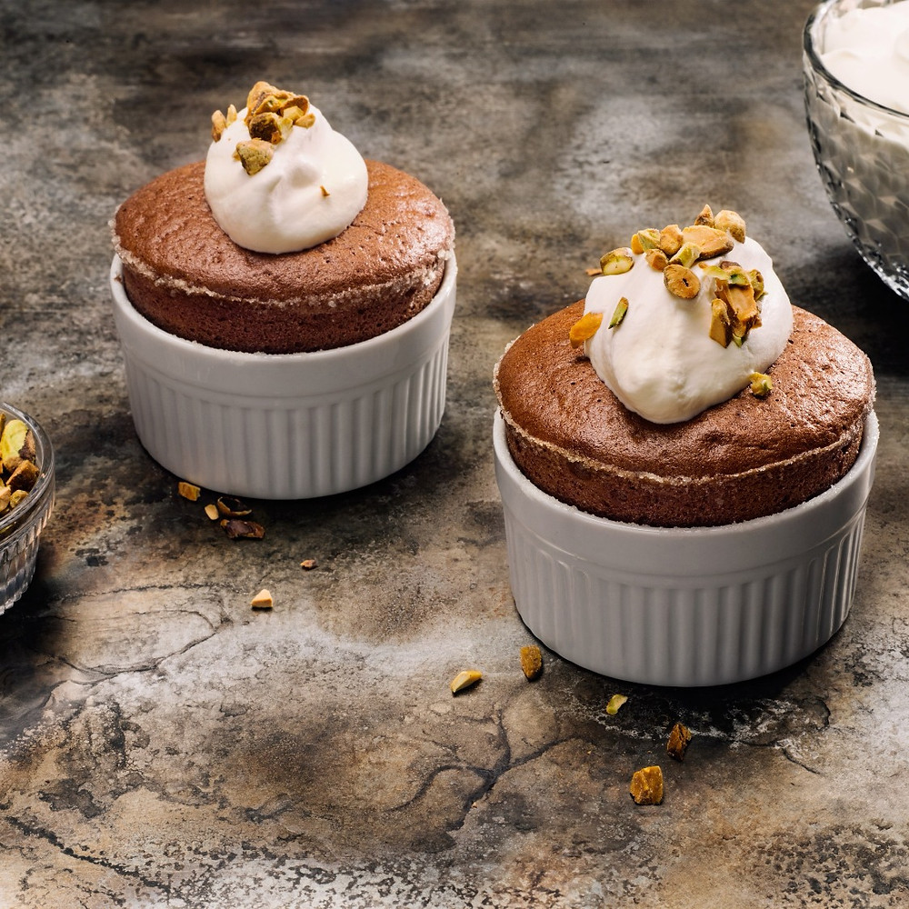 Mexican Chocolate Souffle