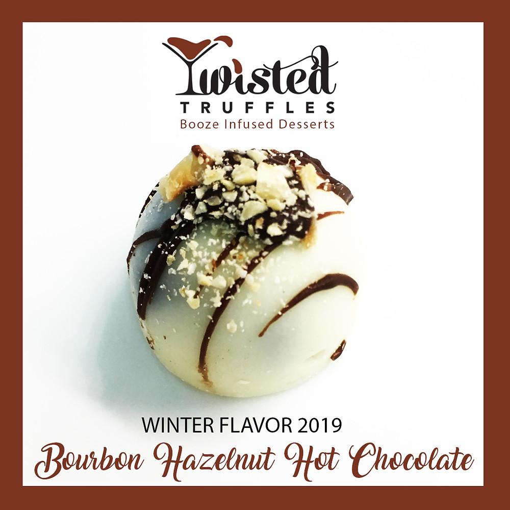 Twisted Truffles Winter Flavor Bourbon Hazelnut