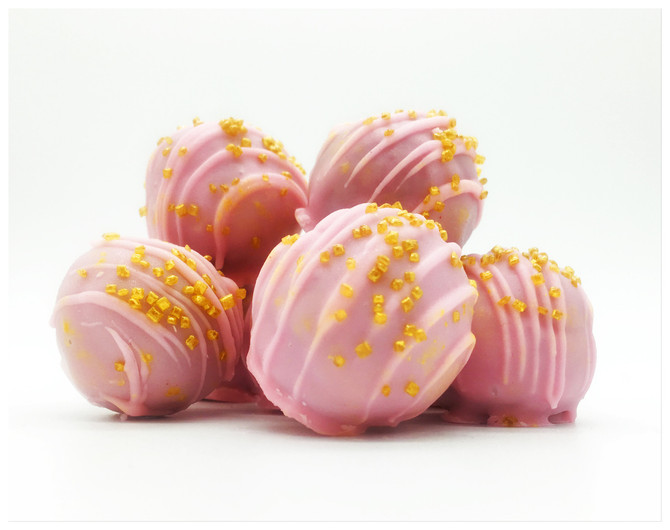 Breaking Chews! New Summer Boozy Cake Ball Unveiled: Raspberries and Rosé