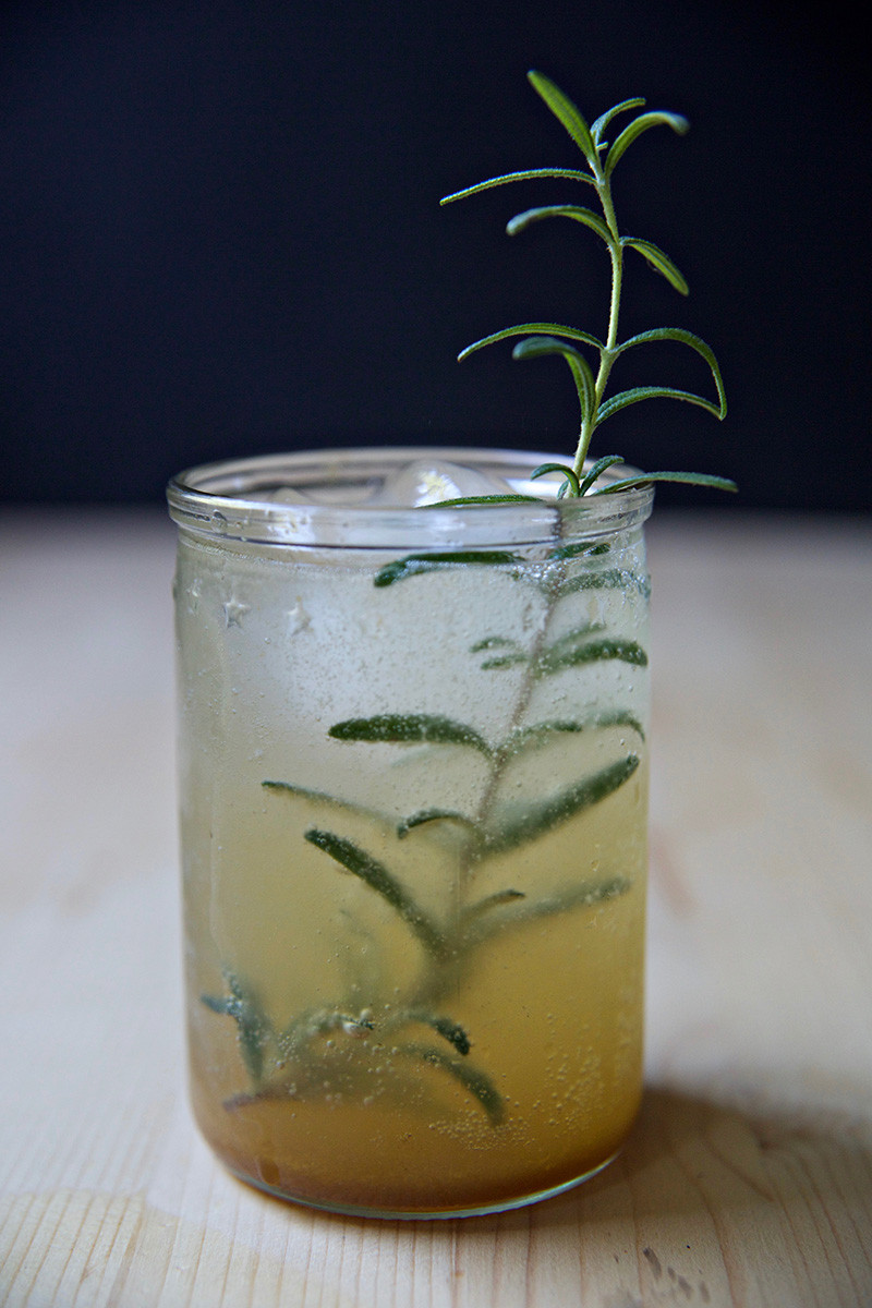 Sweet Potato Rosemary Cocktail