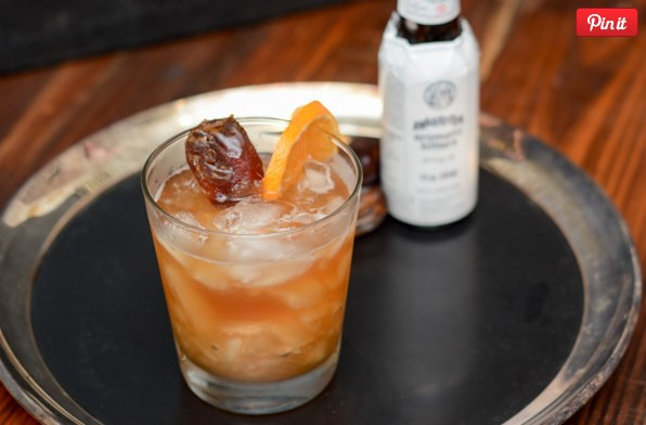 Date Syrup Bourbon Old Fashioned