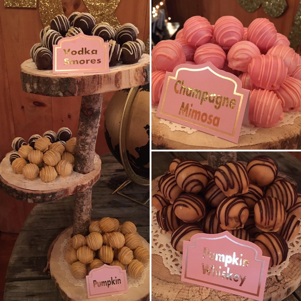 Wedding Cake Balls