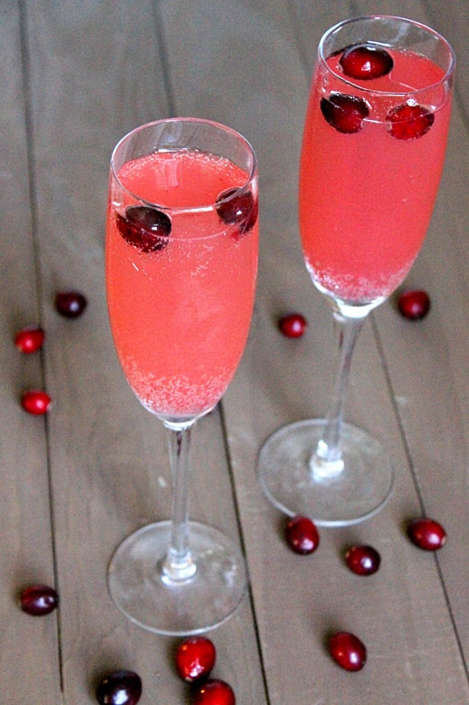 Cranberry Apple Spritzer