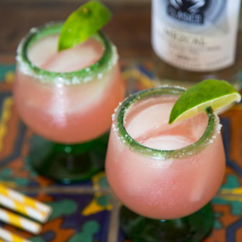 Rhubarb Mezcal Margarita