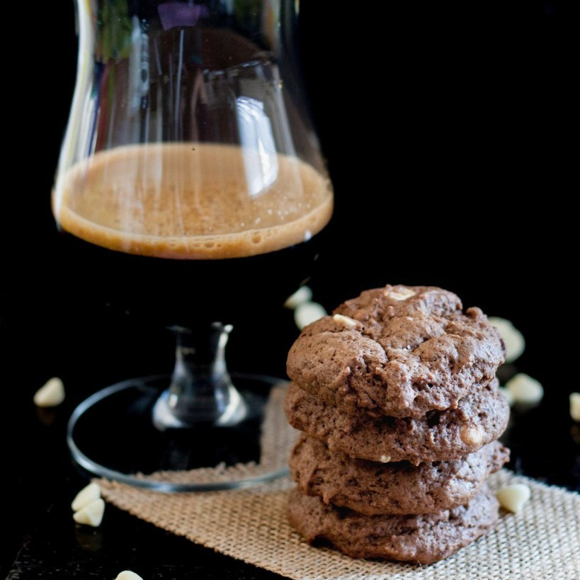 Chocolate Coffee Stout Beer Cookies