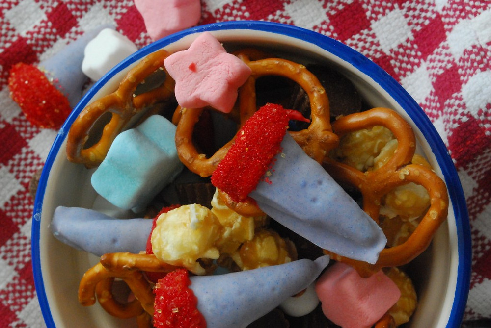 Olympic Torch Snack Mix