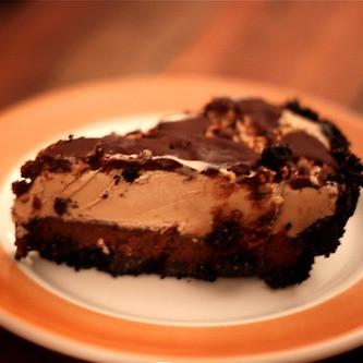 Mississippi Mud Pie with Bourbon