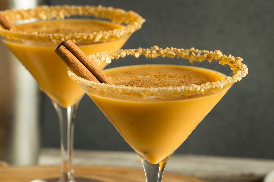 Spiced Pumpkin Pie Cocktail
