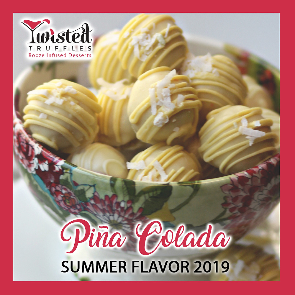 Pina Colada Twisted Truffle