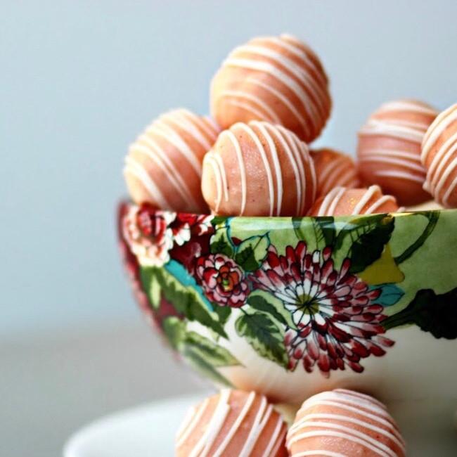 Mimosa Twisted Truffles