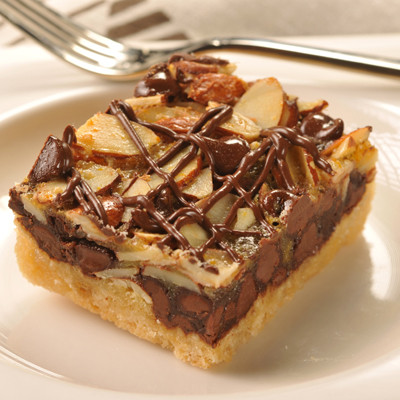 Chocolate Amaretto Bars