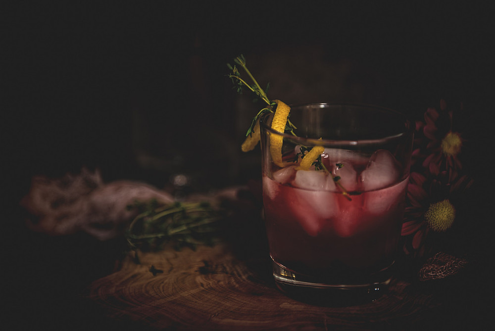 Huckleberry Lemonade Cocktail