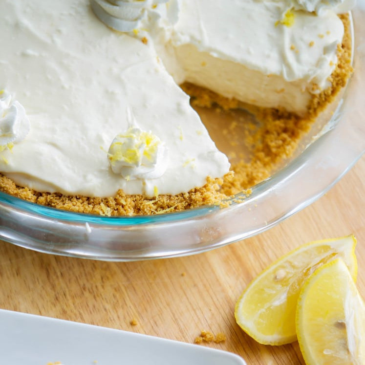 No-bake limoncello pie