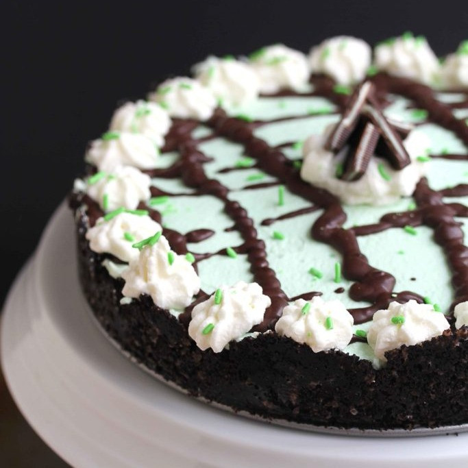 Bailey's Mint Chocolate Cream Pie
