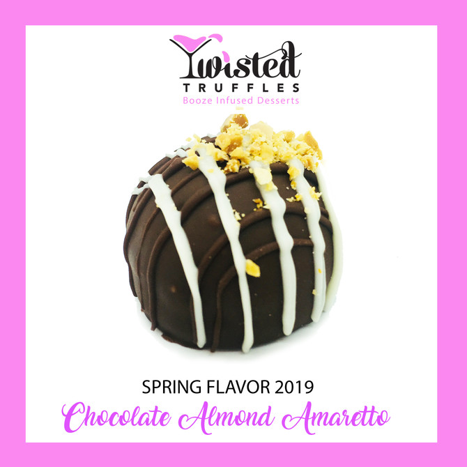 New Flavor Alert! Chocolate Almond Amaretto for Spring!