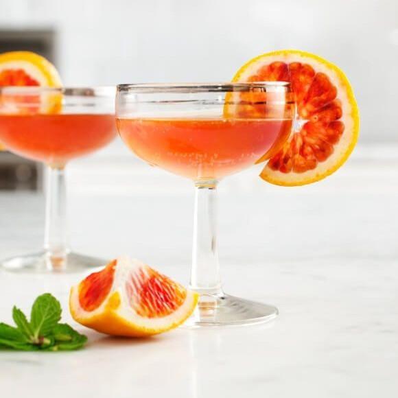 Blood Orange Bourbon Cocktail