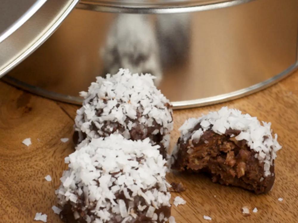 Coconut Bourbon Chocolate Balls