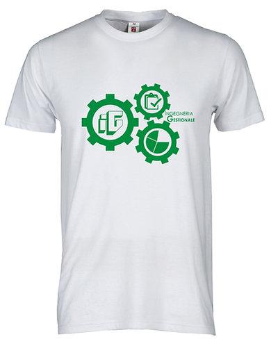 T-shirt unisex bianca o nera - Management Gears
