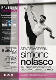 Stage con il ballerino professionista di Amici, Simone Nolasco