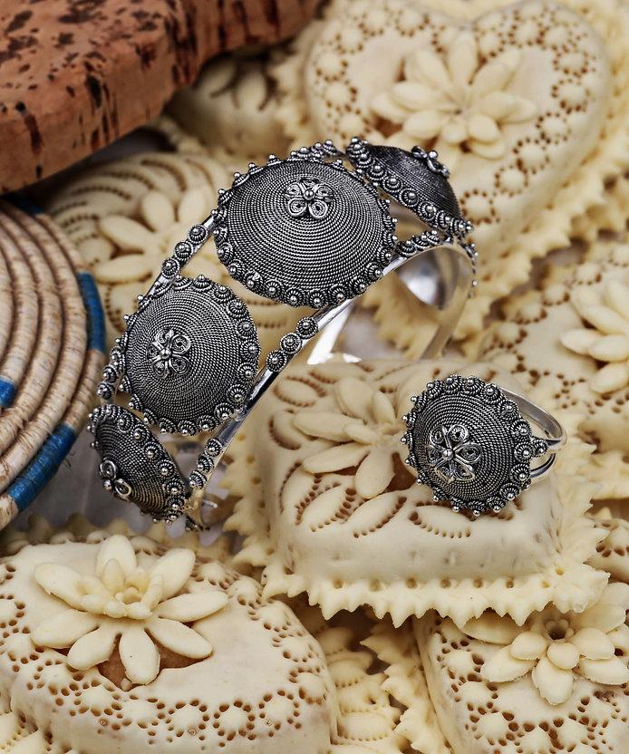 gioielli filigrana argento