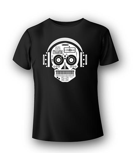 T-Shirt Deejay - HOUSE SKULL