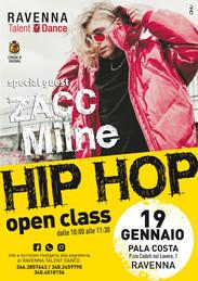 Stage con il ballerino professionista di Hip Hop, Zacc Milne