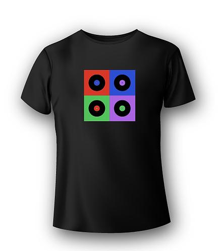 T-Shirt Deejay - Pop Vynil Life