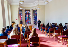Year 13 Blessing of Hands Ceremony
