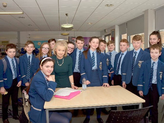 Felicity McCall visits Rathmore