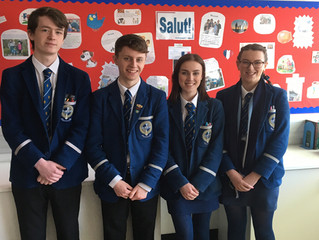 Well done to our French Debaters!
