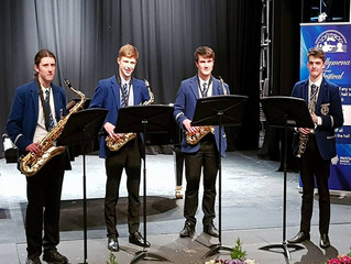 Ballymena Festival - Saxophone Success!