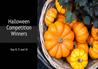 Home Economics Halloween Competition