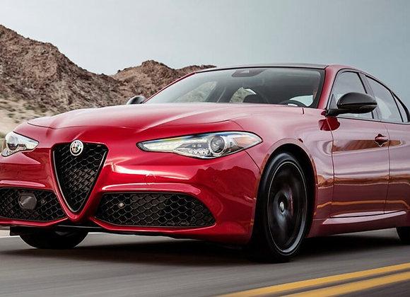 Alfa Romeo Giulia o similare