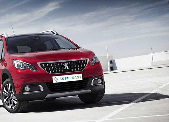 Peugeot 2008 elettrica