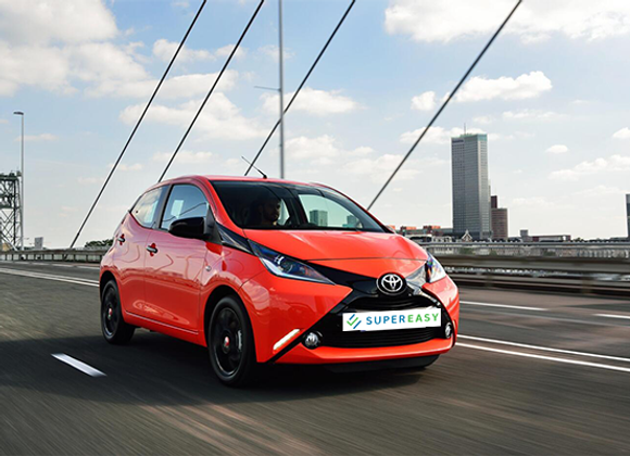 TOYOTA AYGO- Pay per use
