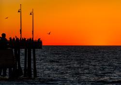 venice pier sunset_1