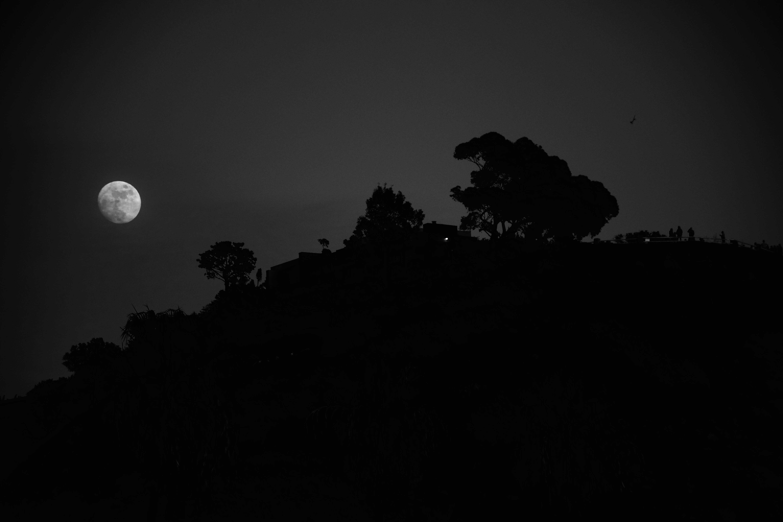 B&W moonscape