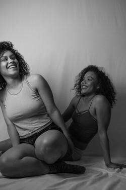 Chels and Lexie in the Home Studio_248