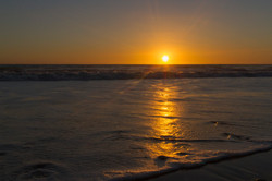 Will Rogers State Beach Sunset